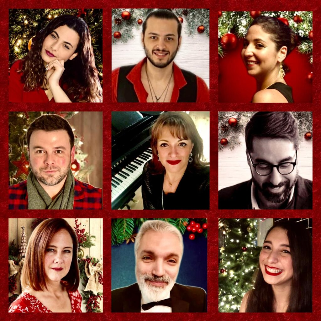 Acappella singing choir Beirut vocal point