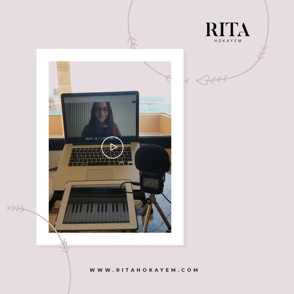 Online singing lessons rita hokayem voice teacher