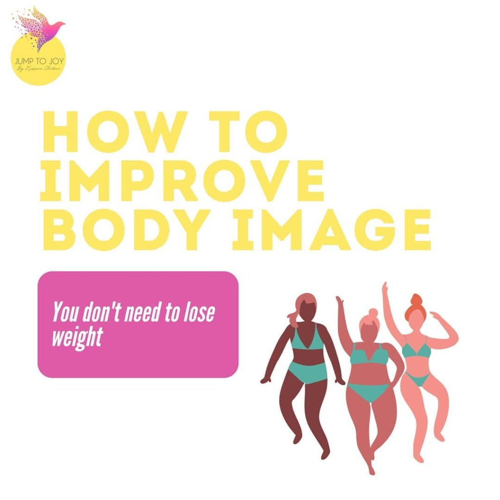 3 women illustration overweight wearing swimming suits and dancing