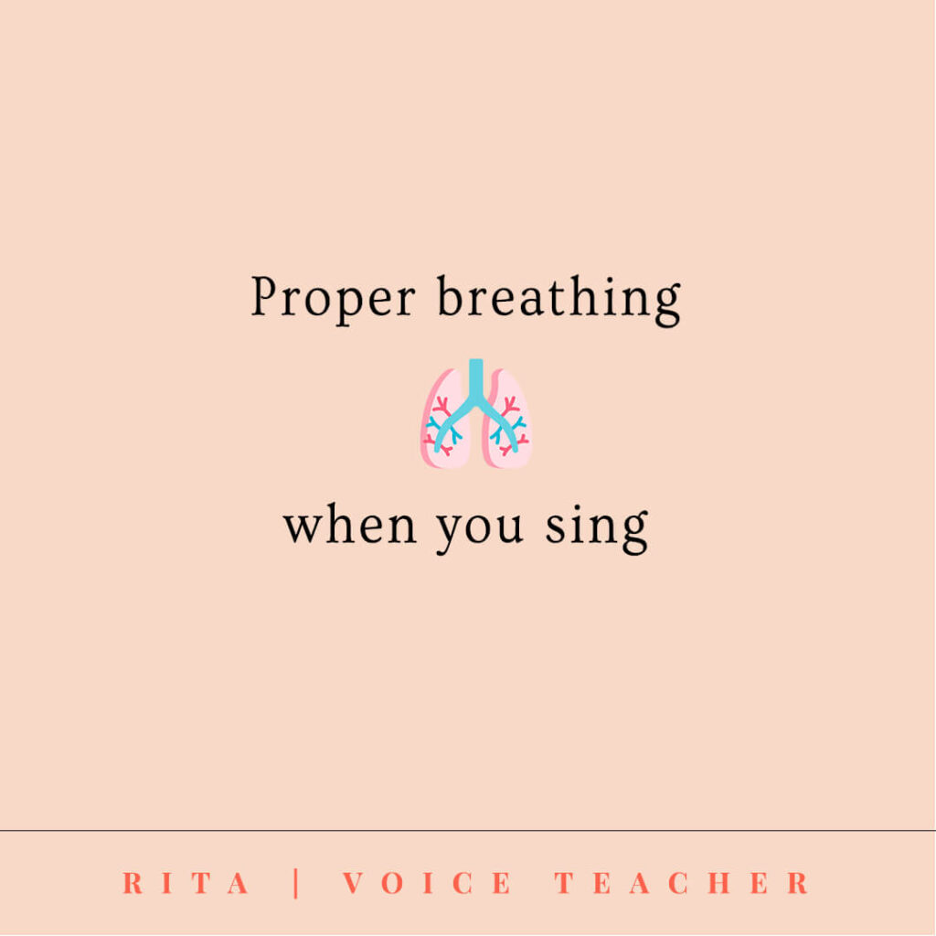 proper breathing for singers