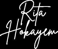 Rita hokayem singer and teacher signature